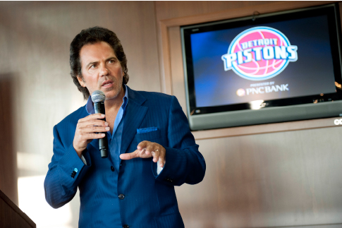 Tom Gores and Detroit Pistons