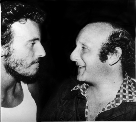 Clive Davis with Bruce Springsteen