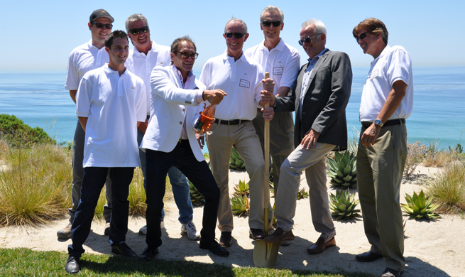 "A Groundbreaking for MariSol Modern, cocktails, and a ""Taste of Mangia"" in Malibu"