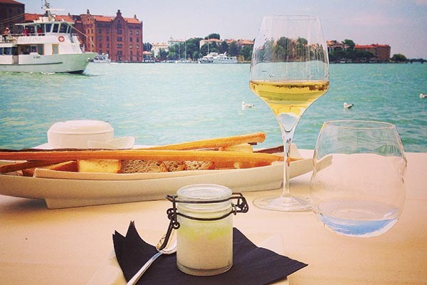 Venice offers visitors an abundance of canal side dining options