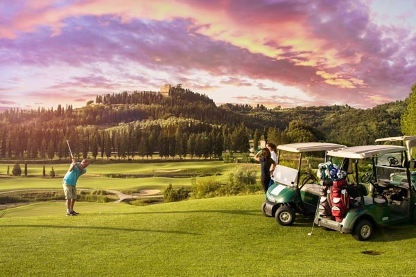 Amenities such as Golf make Toscana Resort Castelfalfi look and feel like home