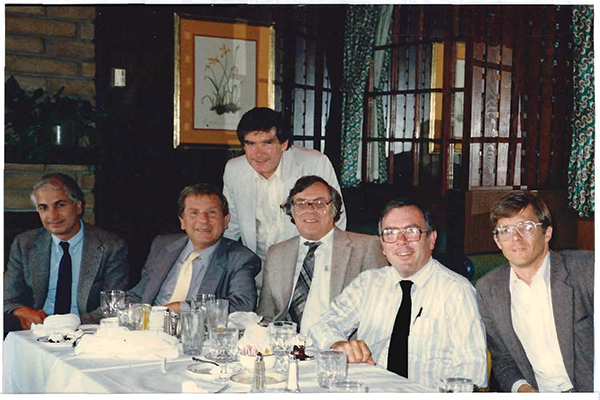 Original Members of the Alfred Mann Foundation 1986