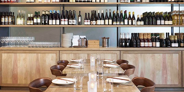 The Wine Room at Cassia (Photo: John Linden)