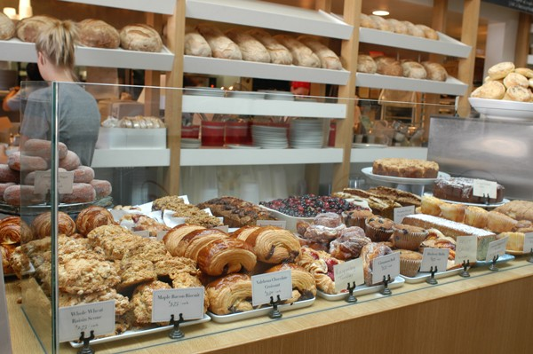 The morning selection at Huckleberry Bakery & Cafe Photo: Emily Hart Roth
