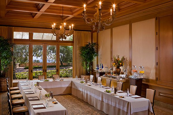 The resort also offers corporate meeting space