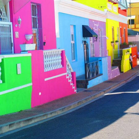 Colorful Cape Quarter in Cape Town