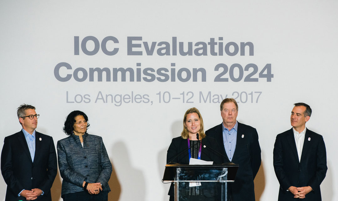 Angela Ruggiero: A CSQ&A with LA 2024's Chief Strategy Officer