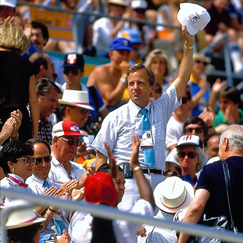 Ueberroth as commissioner of the MLB