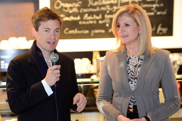 Berggruen with Arianna Huffington