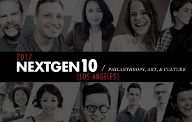 NextGen10: Philanthropy, Art, & Culture [2017]