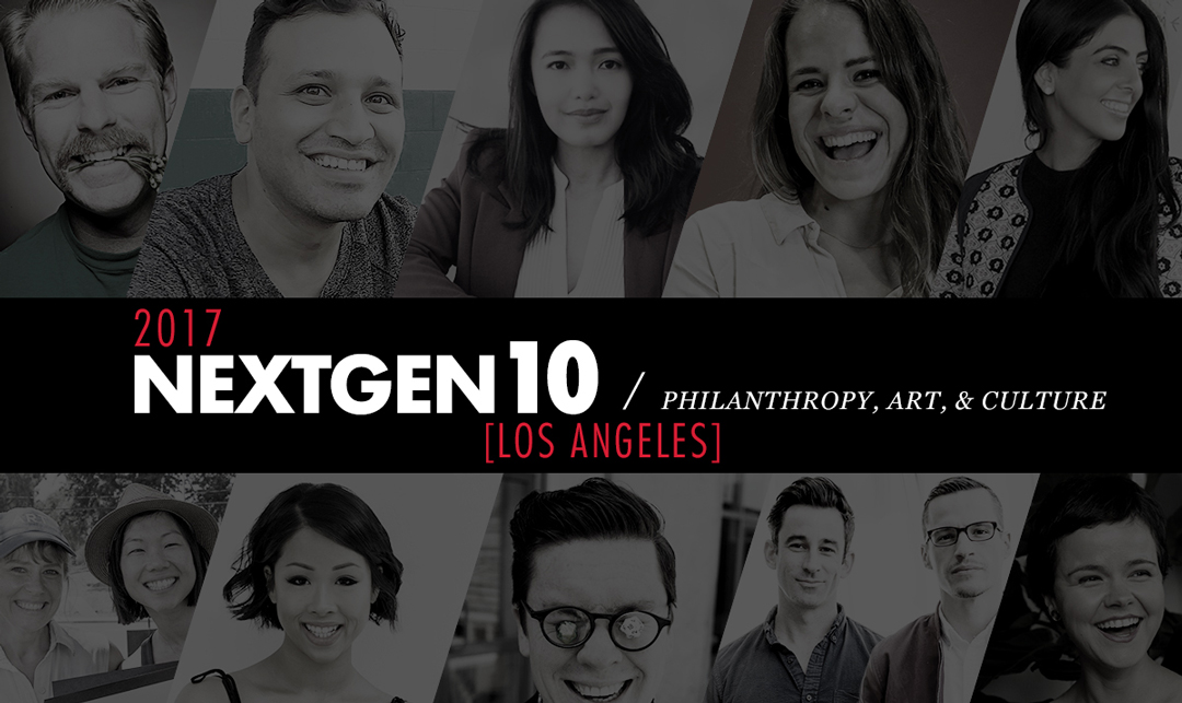 NextGen10: Philanthropy, Art, & Culture [2017]