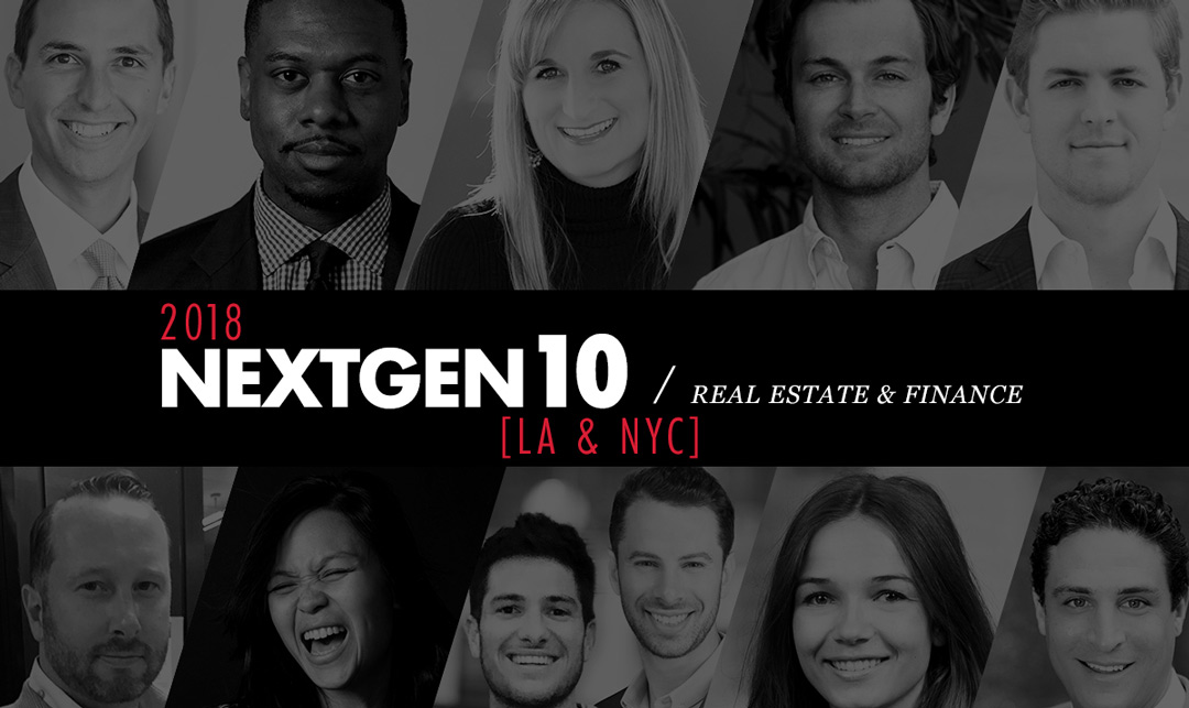 NextGen10: Real Estate & Finance [2018]