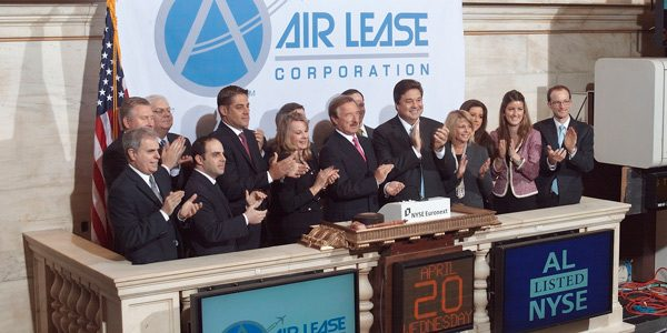 Opening Celebration of Air Lease Corporation on the NYSE, April 20th, 2011