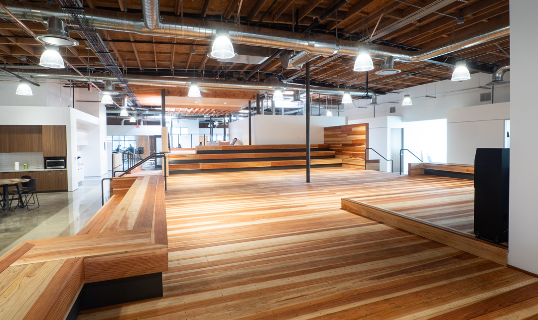 Innovative Office Los Angeles: Hawke Media