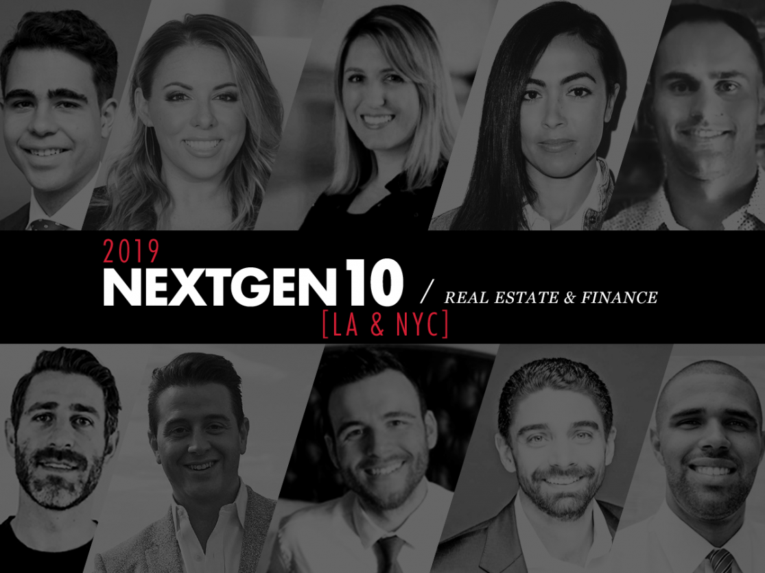 NextGen 10: Real Estate & Finance [2019]