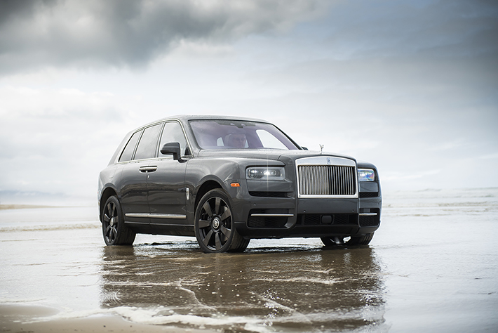 The Fresh, Young Face of Rolls-Royce: The Cullinan SUV