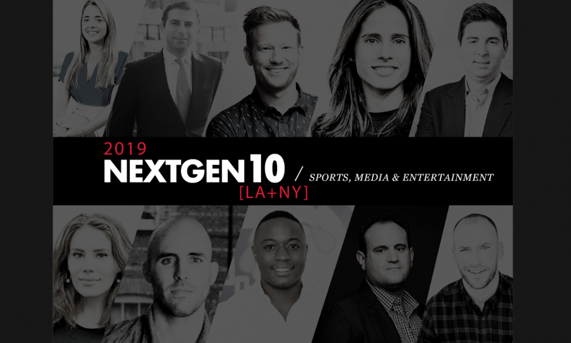 NextGen 10: Sports, Media & Entertainment [2019]