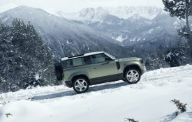 Land Rover Delivers a Classic Defender with a Penchant For Off-Road Adventures