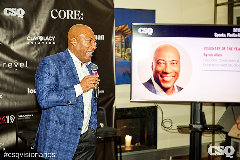 Byron Allen Champions Racial and Gender Equality at CSQ Visionary Awards