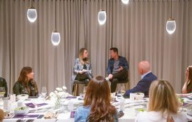 The XX Project Hosts Founders & Funders Dinner with Brian Lee