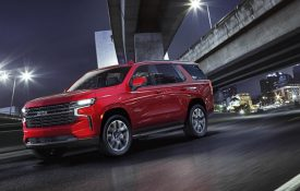 The All-New 2021 Tahoe and Suburban SUVs
