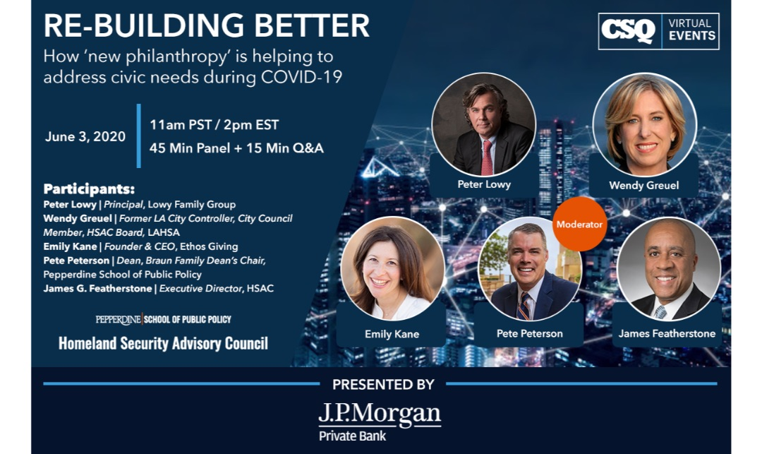 Virtual Event | CSQ Speaker Series: Re-building Better [Watch Now]