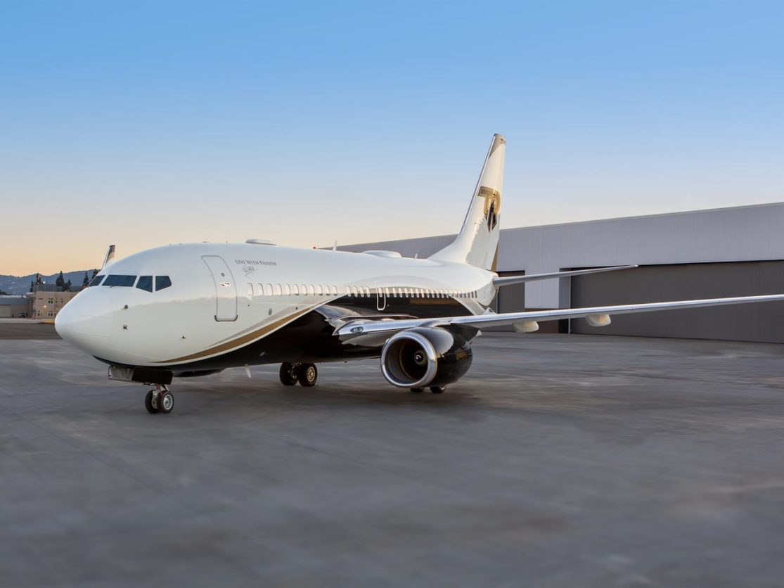 Boeing Business Jet - Lead Image