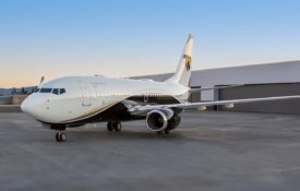 For Charter: Tony Robbins' Boeing Business Jet