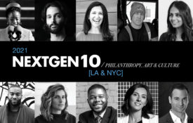 NextGen 10: Philanthropy, Art & Culture 2021