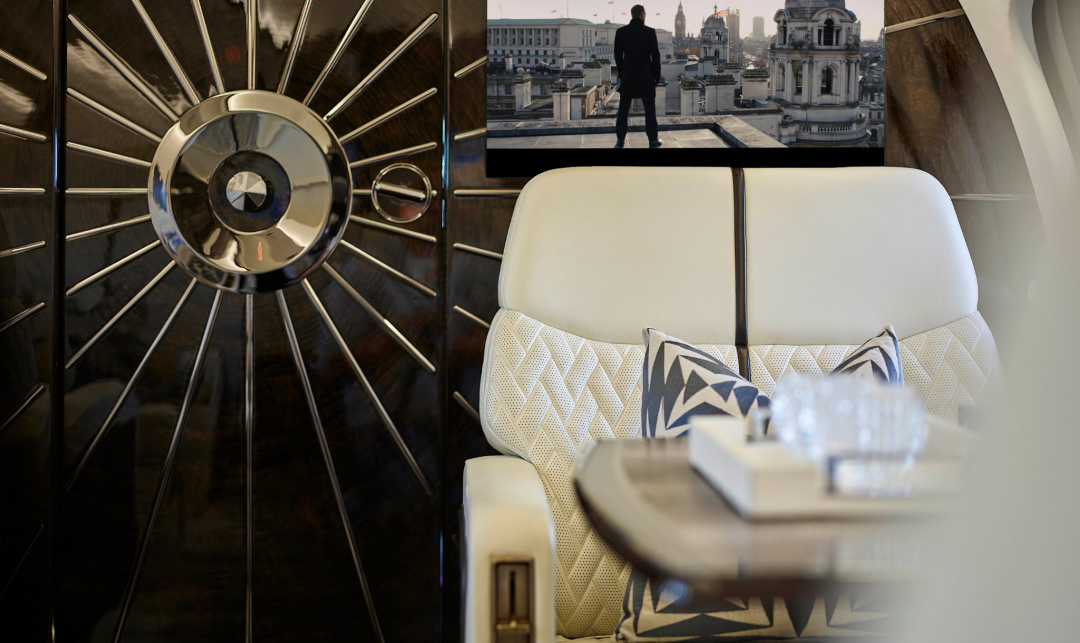 Five Custom Business Jet Interiors You Have to See to Believe